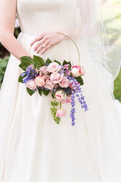 Hoop Bridal Bouquet