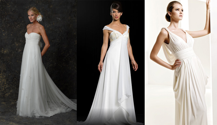 Greek Style Wedding Dress Ideas?