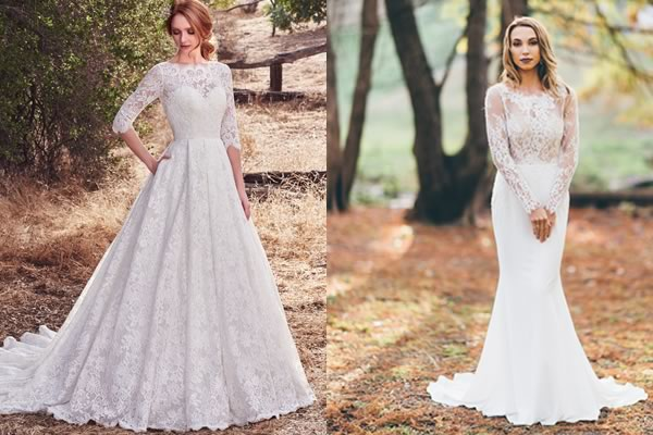 13 Autumn Wedding Dresses You'll Want Right Now!