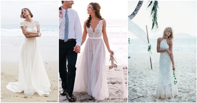 Top 22 Beach Wedding Dresses Ideas To Stand You Out