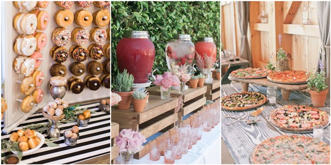 28 Mouth-watering Wedding Food/Drink Bar Ideas For Your