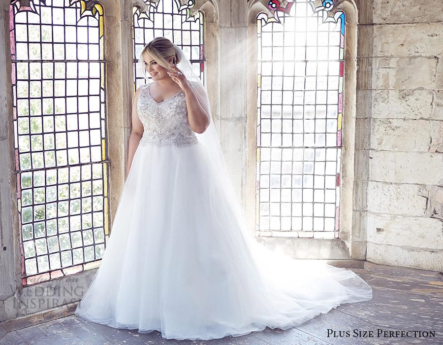 Plus Size Perfection Wedding Dresses