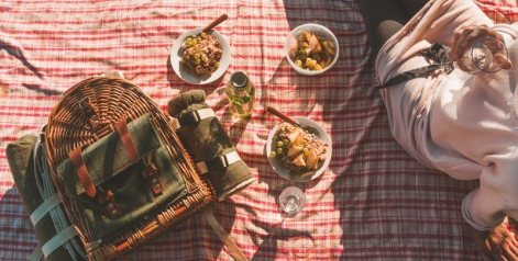 Wedding Ideas Number 7 -  Have a picnic