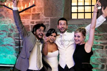 Sonia and Alberto with the bride and groom! :)