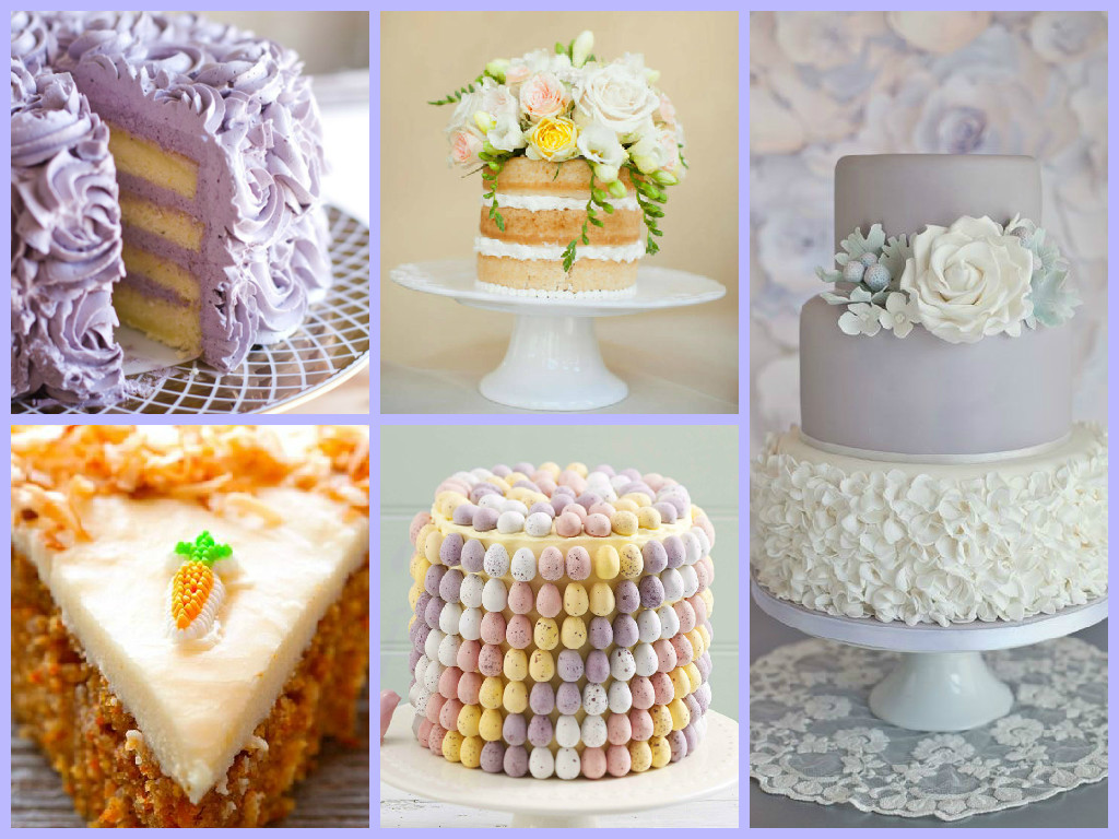 Image result for easter wedding cake