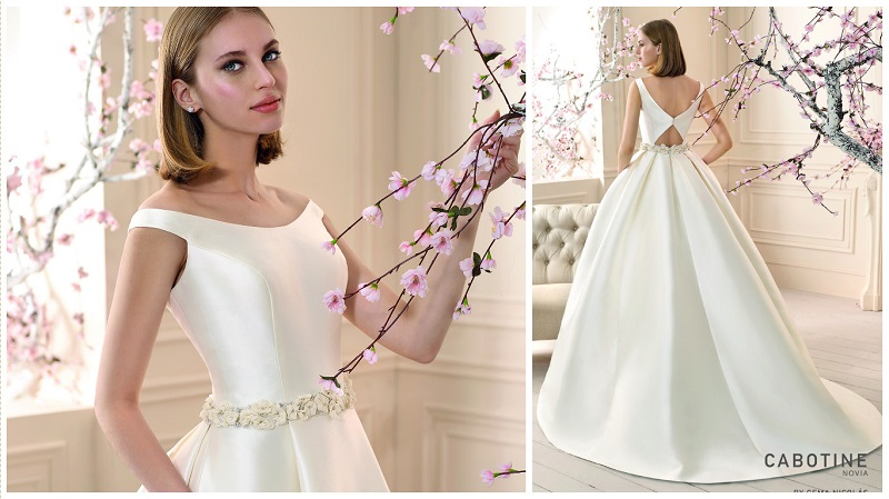 Top Trend! Satin Wedding Dresses Are Back In A Big Way