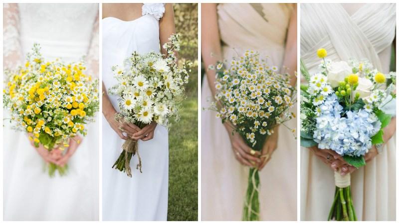 Wedding Flower Trend: Wild Daisies