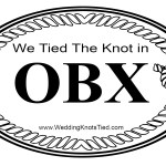 We Tied The Knot in OBX oval