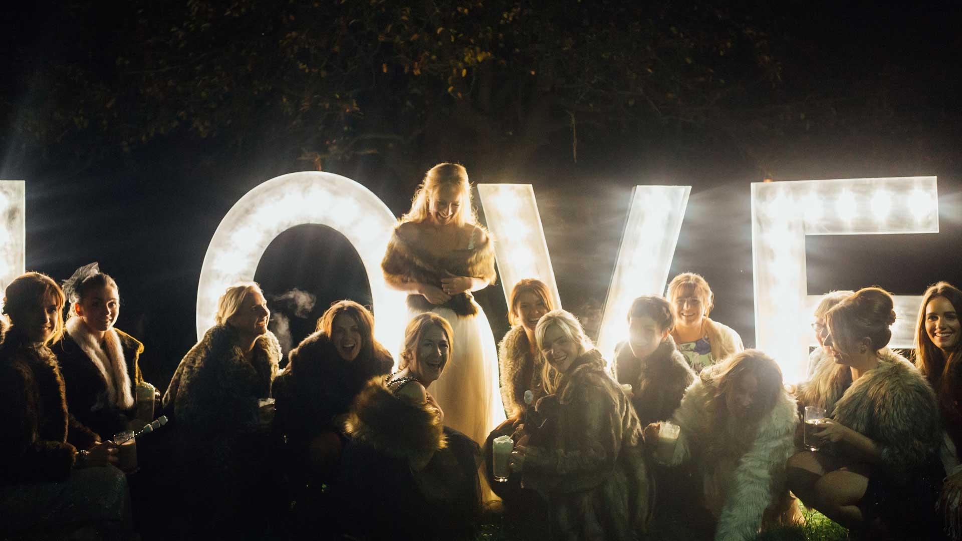 Illuminated Letter Hire