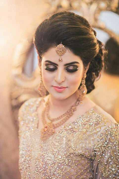 Golden Makeup Ideas For Golden Dress Weddingpace