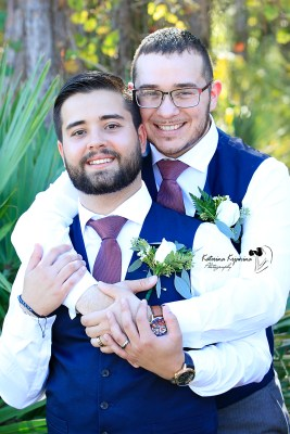 LGBT Gay Wedding Photographer Palm Coast Florida