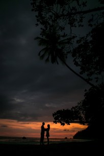Rainforest and Beach Engagement Photography in Costa Rica
