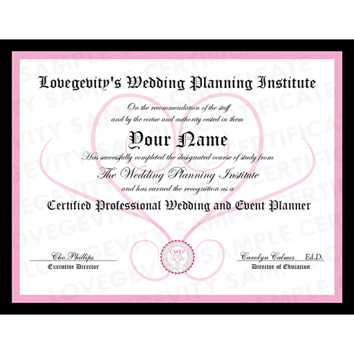 Lovegevity Wedding Planning Institute Certified Wedding