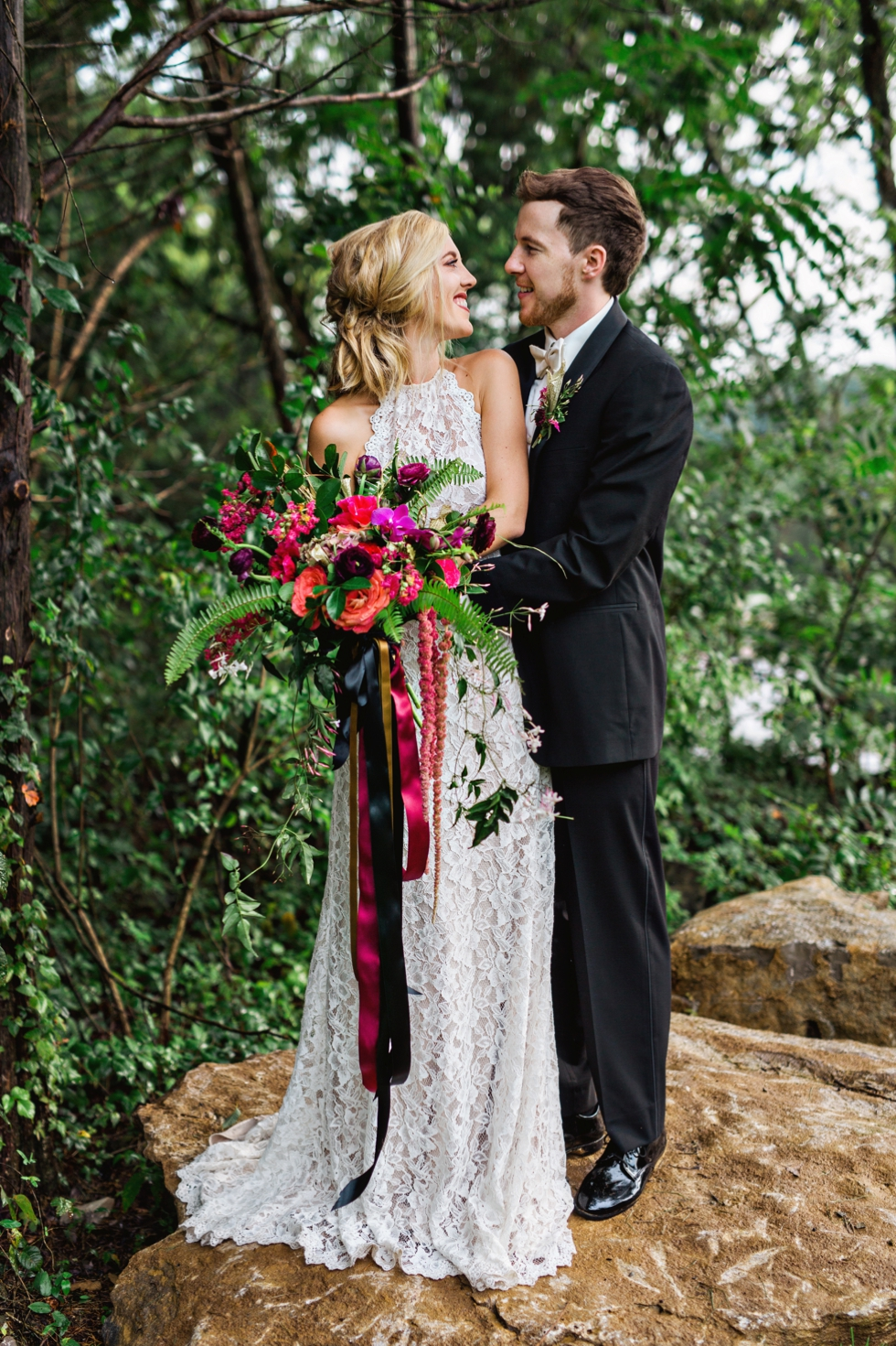 Nashville Wedding Photographer at Graystone Quarry Boho Wedding