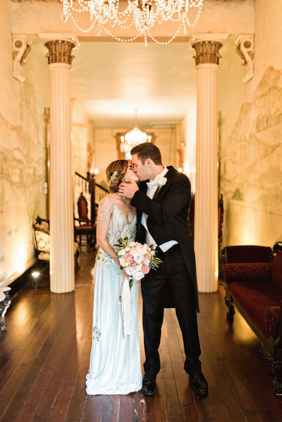 Downton Abbey Wedding at Riverwood Mansion Nashville