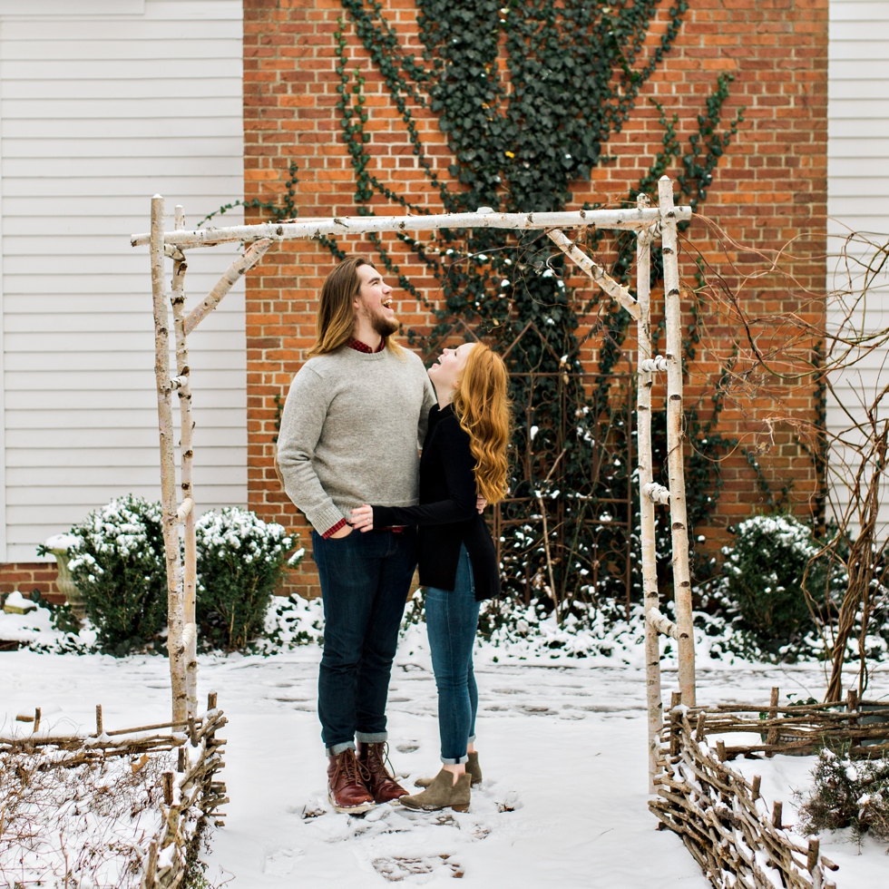 Snowy Homestead Manor Wedding Photographer