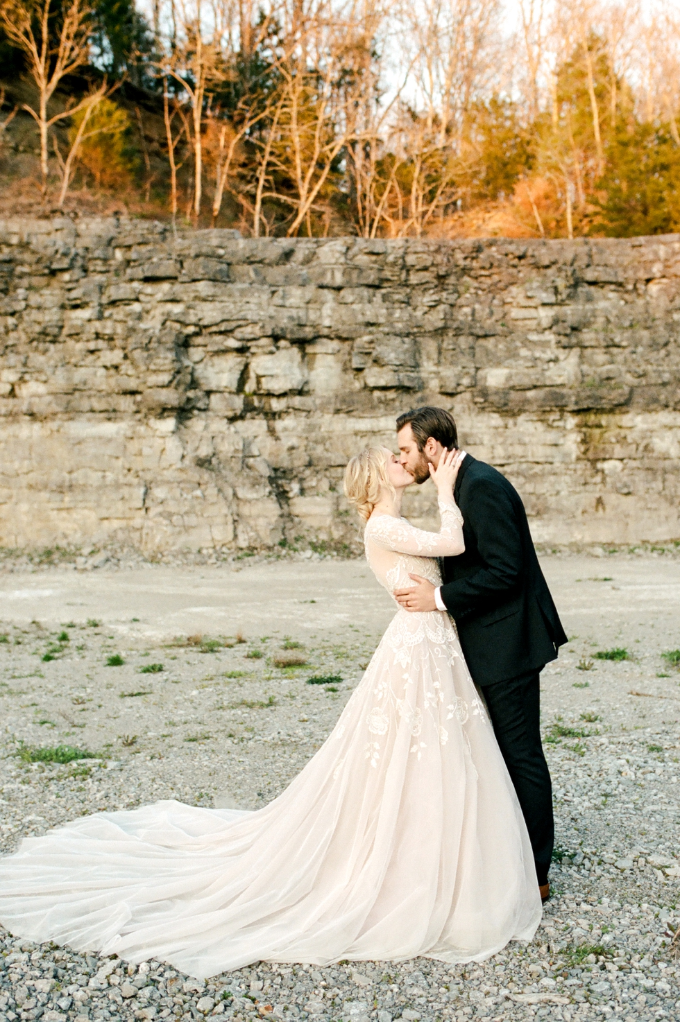Nashville Wedding Photographer at Graystone Quarry