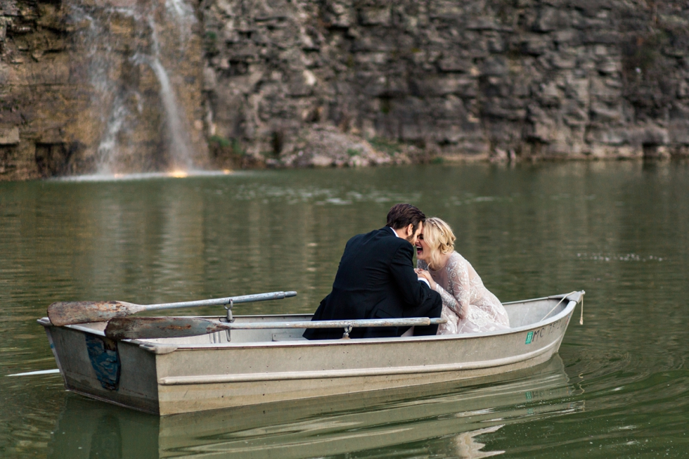 Fairytale Wedding at Graystone Quarry in Nashville
