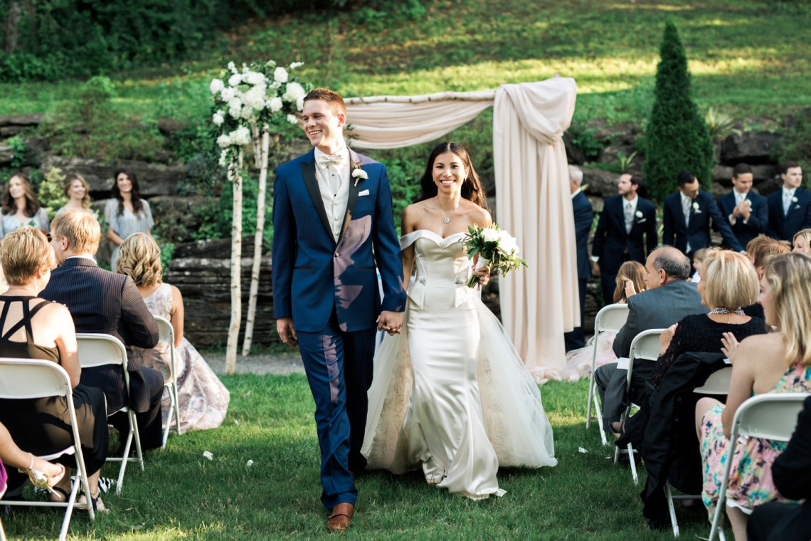 Jewish Wedding Photography Nashville Cheekwood