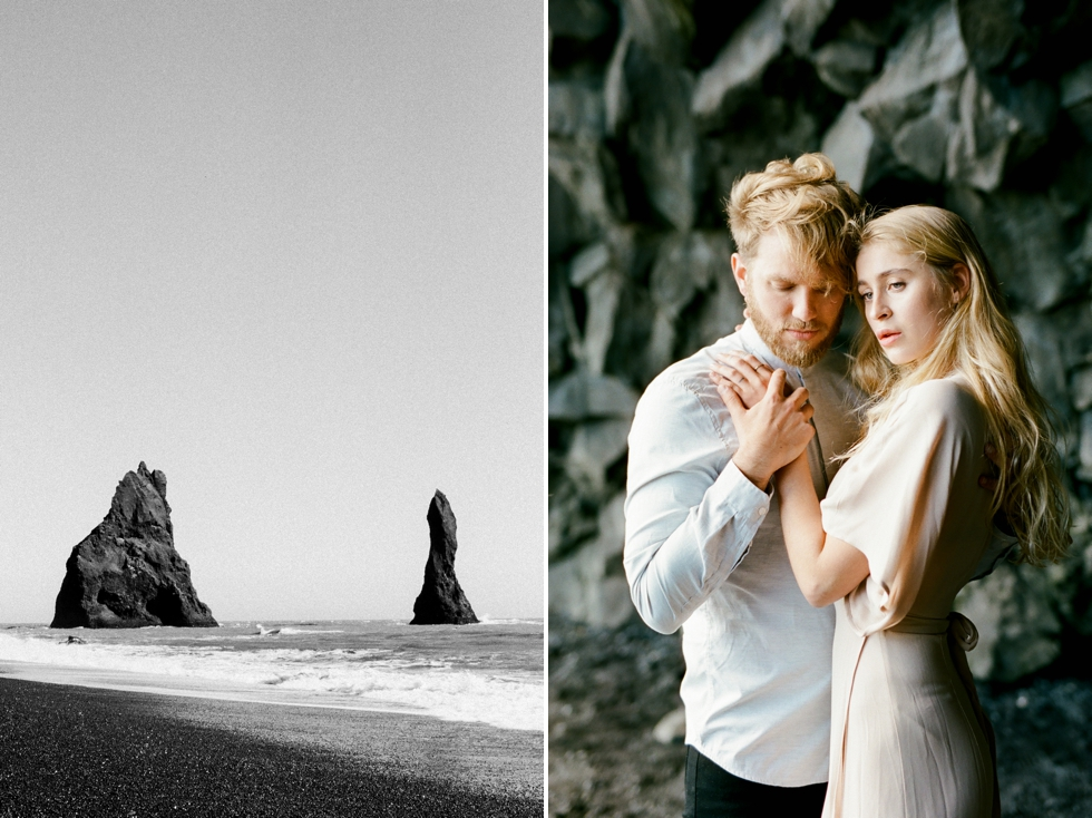 Iceland Elopement Photographer Skogafoss Waterfall