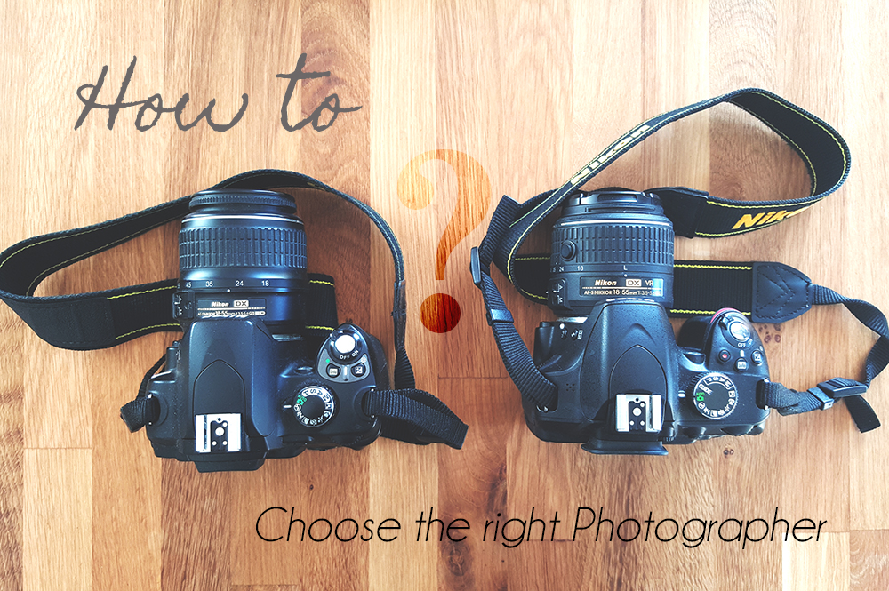 How to book the right Photographer