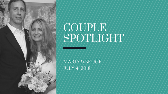 Couple spotlight - Bruce and Maria
