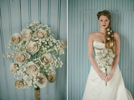 Book-Themed Wedding by Melissa Stallings via Limn & Lovely
