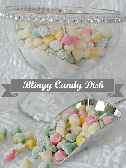 Blingy Candy Dish weddings.craftgossip.com