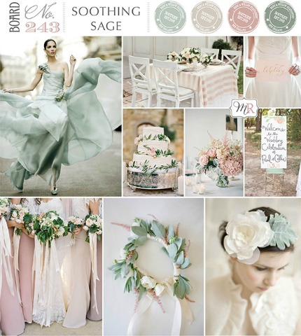Soothing Sage Wedding Inspiration magnolia rouge.com