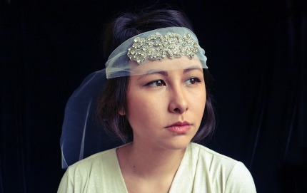 Great Gatsby Inspired Headband Tutorial via ShineTrim