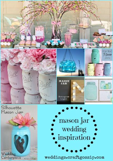{Pinteresting Weddings} Mason Jar Inspiration