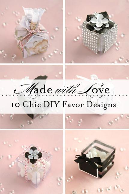 10 Chic DIY Favor Boxes via weddingstar.com
