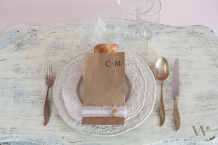 DIY Shabby Chic Wedding Favors via The Details by weddingstar