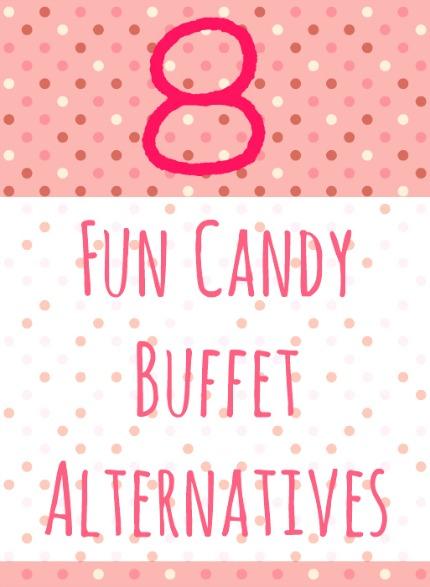 8 Fun Candy Buffet Alternatives via Intimate Weddings
