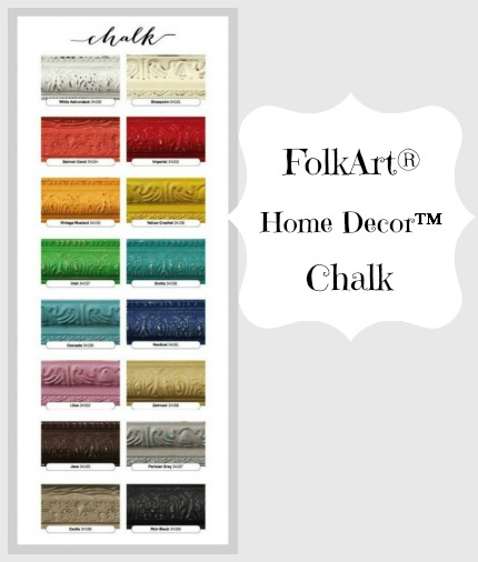 Color Chart FolkArt®  Home Decor™ Chalk