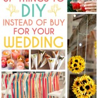 DIY Ideas for your Wedding