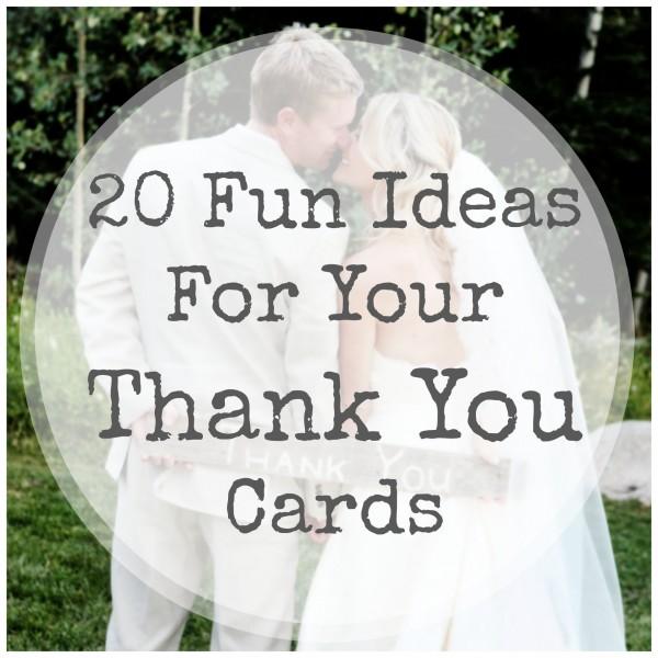 Doc600325 Wedding Thank You Card Ideas Wedding Thank You Card
