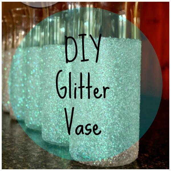 Make Your Own Glitter Vases Diy Weddings