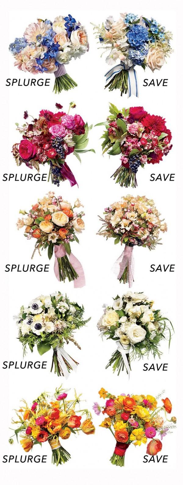 Cheap Flower Alternatives Save Vs Splurge - DIY Weddings