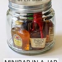 Minibar In A Jar (Gift Idea)