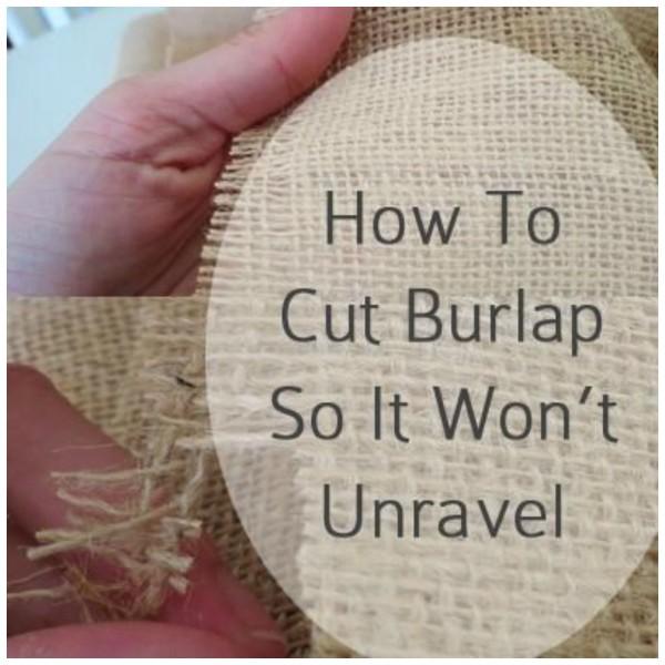 burlapcutting