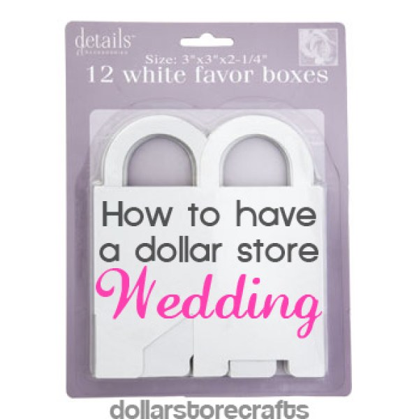 dollarstorewedding