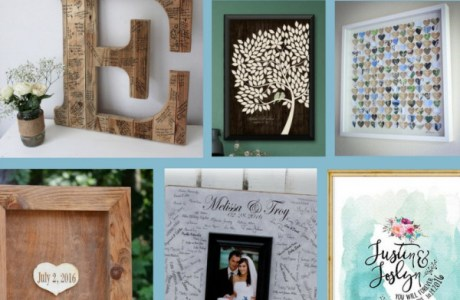 Alternative Guest Book Ideas For Your Wedding