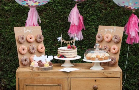 DIY Wedding Dessert Table