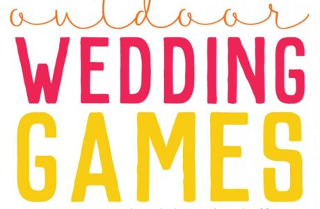 DIY Wedding Games