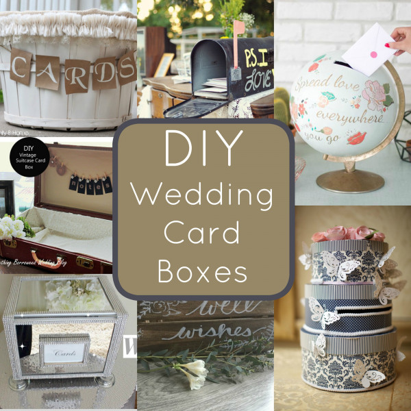 DIY Wedding Card Boxes You Can Make Yourself