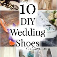 10 DIY Wedding Shoes You Can Create On A Budget