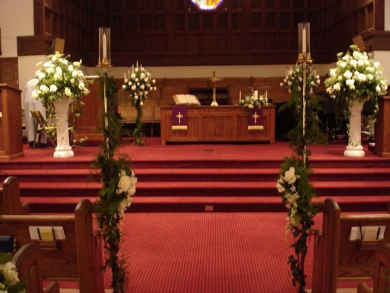 Ringling Courtyard Wedding Reception