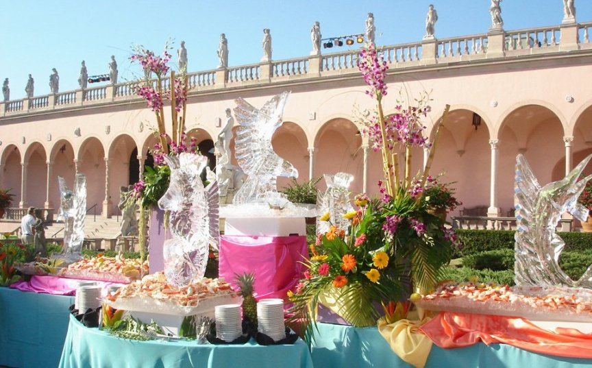 Event and Banquet Flowers at the Ringling International Arts Festival