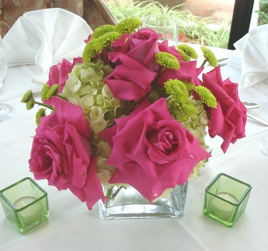 Pink Wedding Centerpiece Ideas: Contemporary Centerpiece Ideas For Weddings, Spring